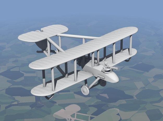 Vickers F.B.9 in White Natural Versatile Plastic: 1:144