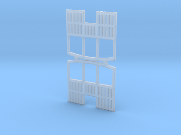 o-148fs-cavan-leitrim-coach-balcony-end-set2 in Smooth Fine Detail Plastic