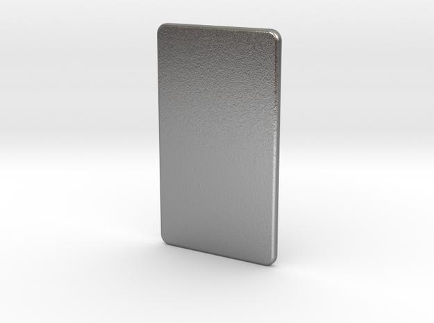 The Silver Bar 3d printed