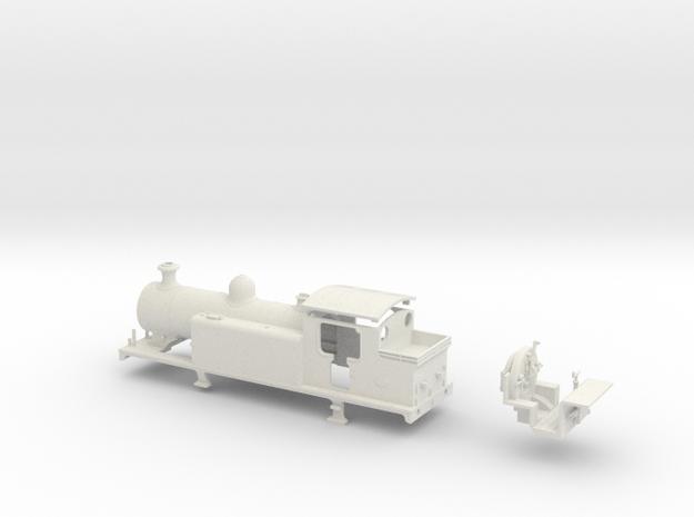 LBSCR E4-X in White Natural Versatile Plastic