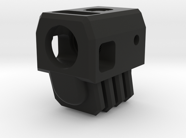 Deranged USP compensator in Black Natural Versatile Plastic