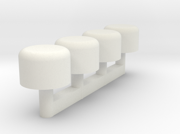 Custom Request - KR Maul Plungers in White Natural Versatile Plastic