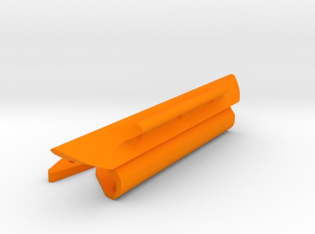 "DM4 Montgomery-15  4.5"" July2019 in Orange Processed Versatile Plastic"