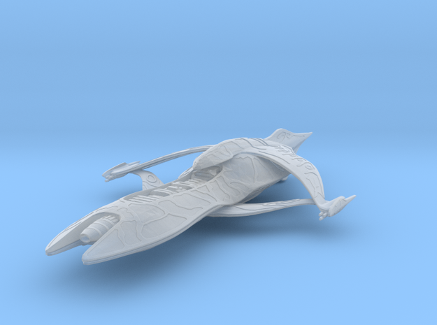 ISA_gunboat-single-fin in Smooth Fine Detail Plastic