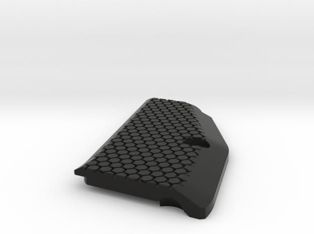CZ75 SP-01 (left) SHORT grip in Black Natural Versatile Plastic