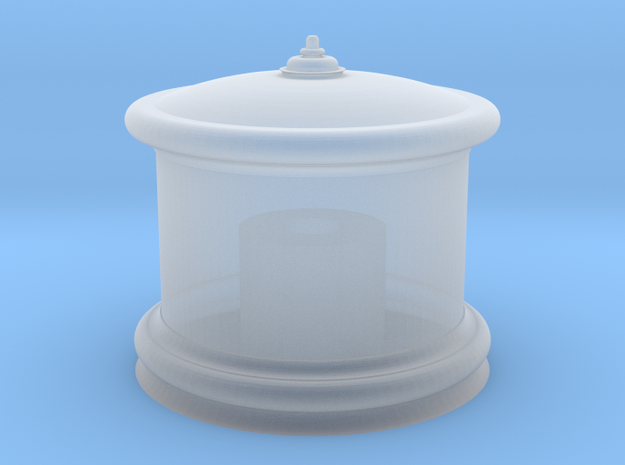 HO Sand Dome for Bachmann 4-4-0 - Roy O. Disney in Smooth Fine Detail Plastic