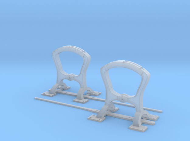 Harp Switch Stand - Arc top - Two Pack in Smoothest Fine Detail Plastic