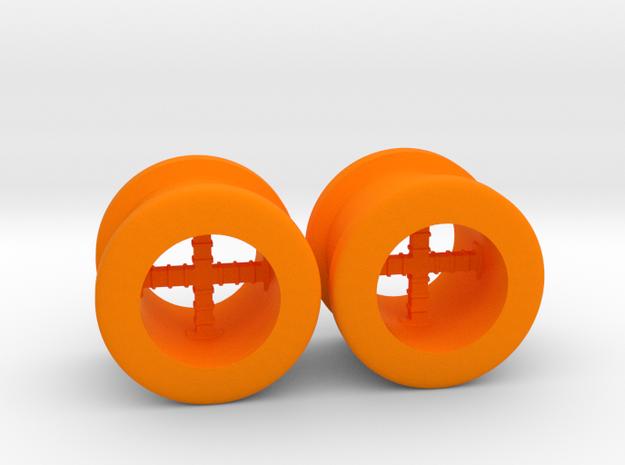 Sights in Orange Processed Versatile Plastic