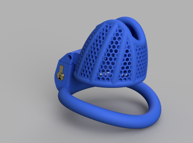 Cherry Keeper Total TouchStop - Small in Blue Processed Versatile Plastic: Extra Small