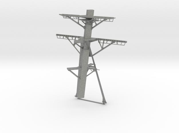 1/72 Burke Main Mast in Gray PA12