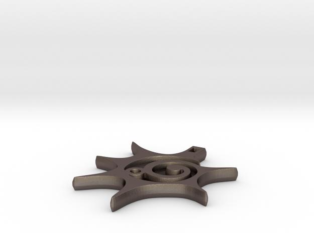 Balance & Positivity Pendant 3d printed