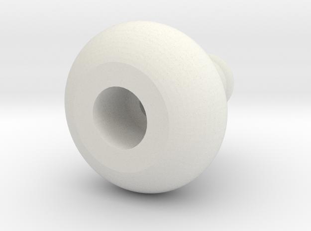 jugbead in White Natural Versatile Plastic