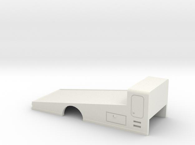 1/32 Ramp Bed in White Natural Versatile Plastic