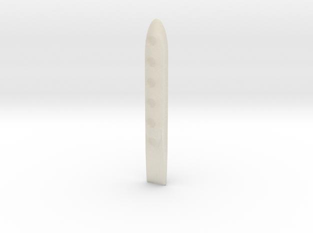 ^tool Scratch Card Scraper 3d printed Shapeways Render - White Detail