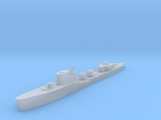 Italian Sirio torpedo boat 1:3000 WW2 in Smoothest Fine Detail Plastic