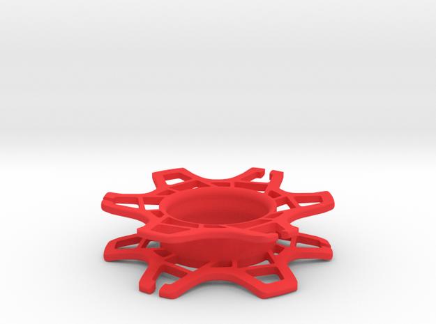 Gear Wrap in Red Processed Versatile Plastic