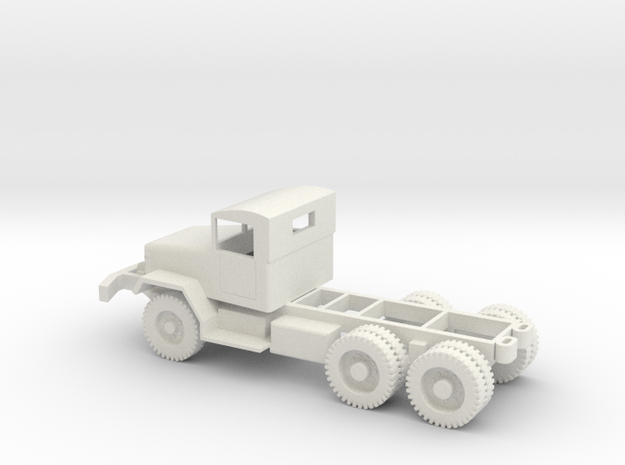 1/87 Scale M45 Chassis in White Natural Versatile Plastic