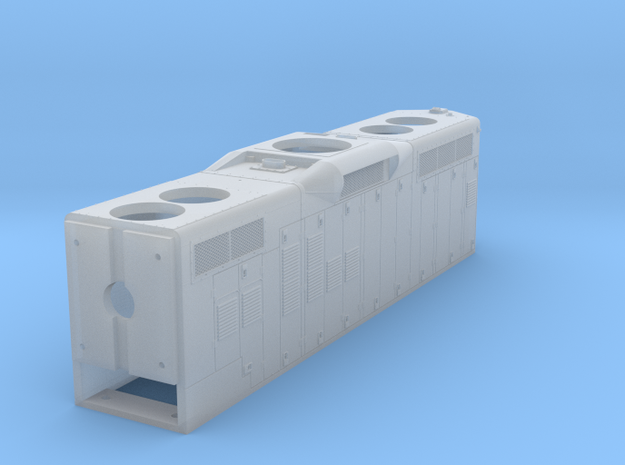 CN GP9RM Hood 1/48 in Smoothest Fine Detail Plastic