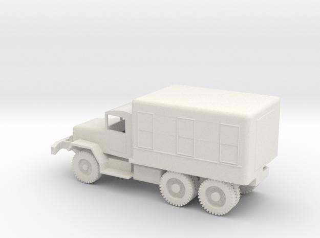 1/87 Scale M109 Van in White Natural Versatile Plastic