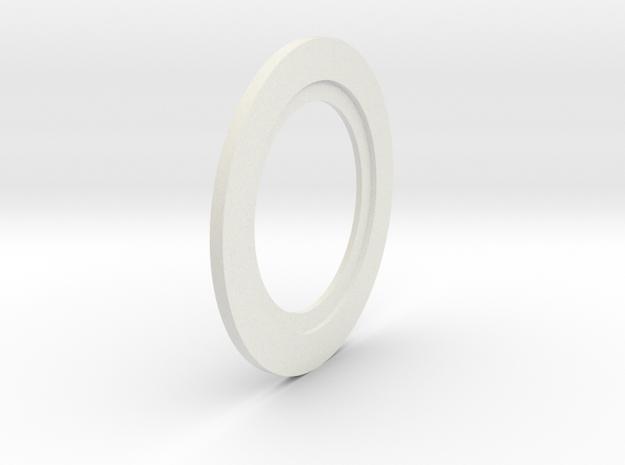 Thinner Washer in White Natural Versatile Plastic