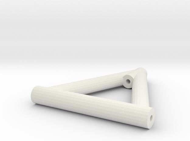 Lenker Oben Lang V2 in White Natural Versatile Plastic
