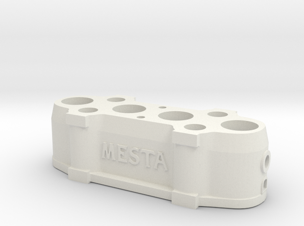 Mesta Stationary Crosshead for 50 Kiloton Forge  in White Natural Versatile Plastic: 1:87 - HO