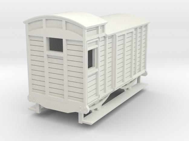 o-re-87-eskdale-brake-van in White Natural Versatile Plastic