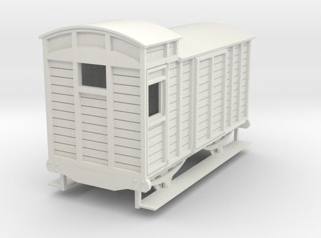 o-re-43-eskdale-brake-van in White Natural Versatile Plastic