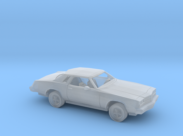 1/160 1977 Buick Regal Kit in Smooth Fine Detail Plastic