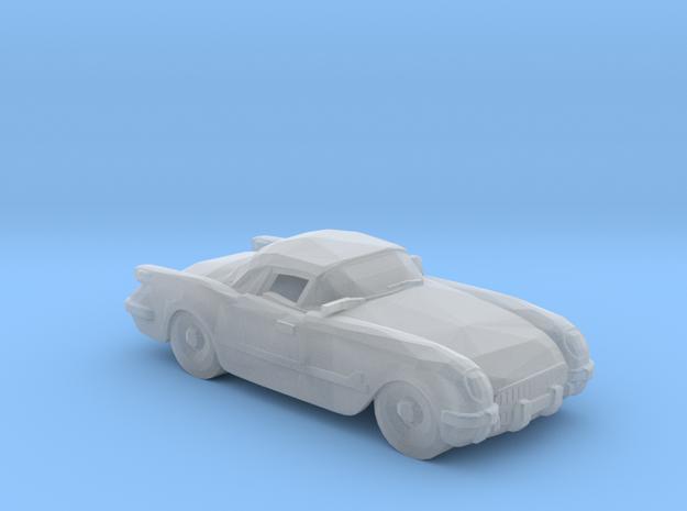 Chevrolet Corvette 1954 V8 in Smooth Fine Detail Plastic