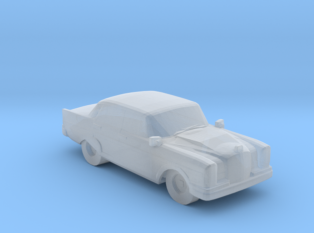 Mercedes Benz 300 1963 in Smooth Fine Detail Plastic