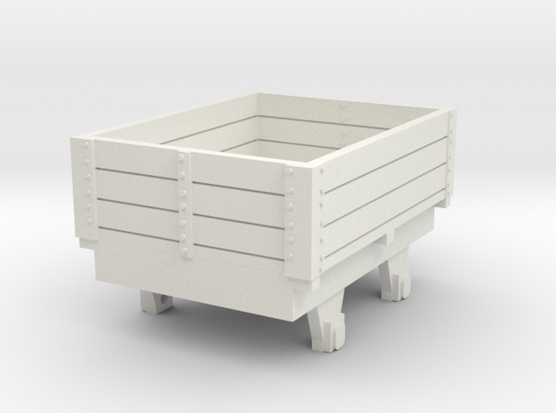 0-re-87-eskdale-ore-wagon in White Natural Versatile Plastic