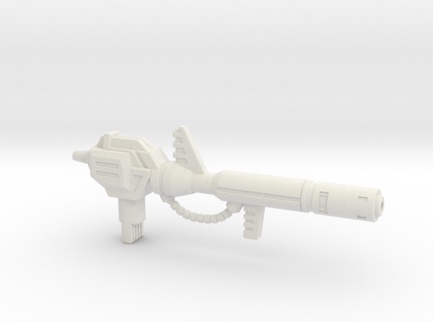 6mm Electron Cannon for Upsized PotP Snarl in White Natural Versatile Plastic
