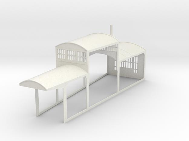 z-160-roundhouse-7-5-deg-mid-section-1 in White Natural Versatile Plastic