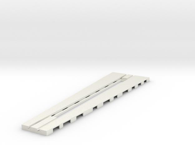 z-160-roundhouse-7-5-deg-base-track-1 in White Natural Versatile Plastic