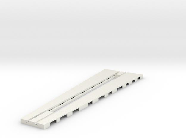 z-160-roundhouse-9-deg-base-track-1 in White Natural Versatile Plastic