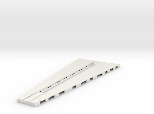 z-160-roundhouse-15-deg-base-track-1 in White Natural Versatile Plastic