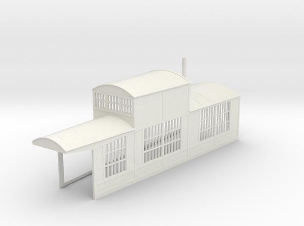z-160-roundhouse-7-5-deg-right-side-section-open-1 in White Natural Versatile Plastic