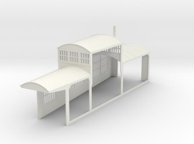 z-160-roundhouse-7-5-deg-left-side-section-open-1 in White Natural Versatile Plastic