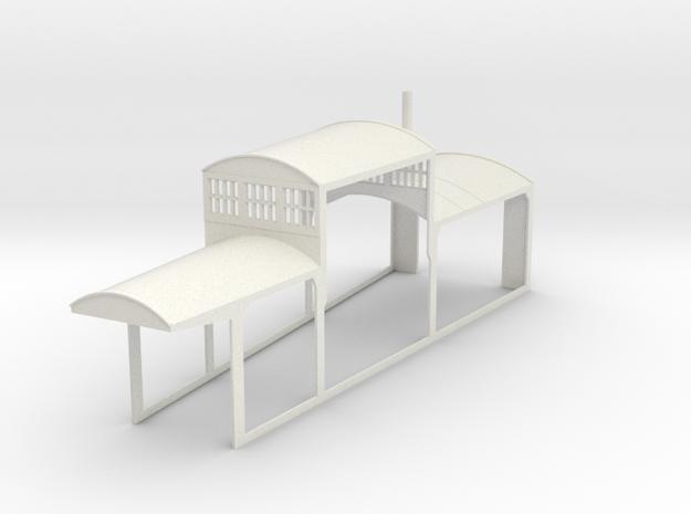 z-160-roundhouse-7-5-deg-mid-section-open-1 in White Natural Versatile Plastic