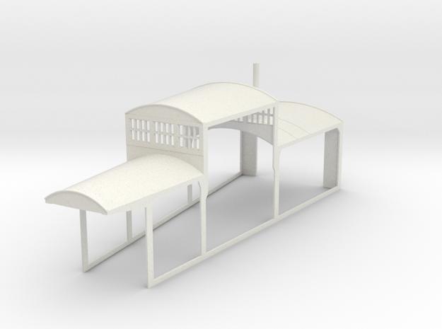 z-160-roundhouse-10-deg-mid-section-open-1 in White Natural Versatile Plastic