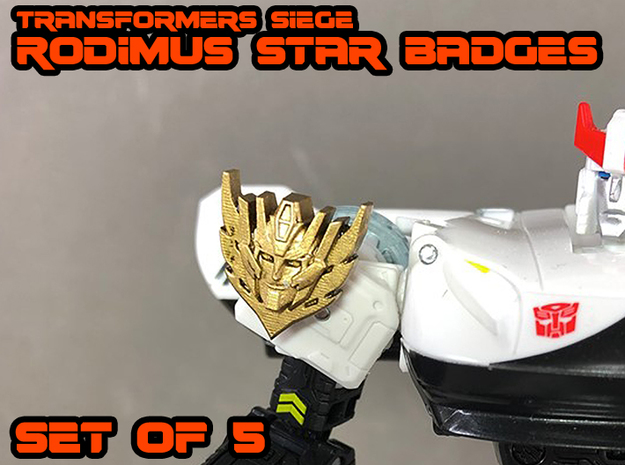 Rodimus Stars - Transformers Siege in Smooth Fine Detail Plastic