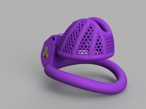 Cherry Keeper Total TouchStop - Short in Purple Processed Versatile Plastic: Extra Small