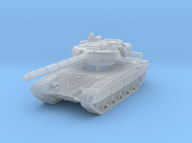 T-72 B late turret 1/144 in Smooth Fine Detail Plastic