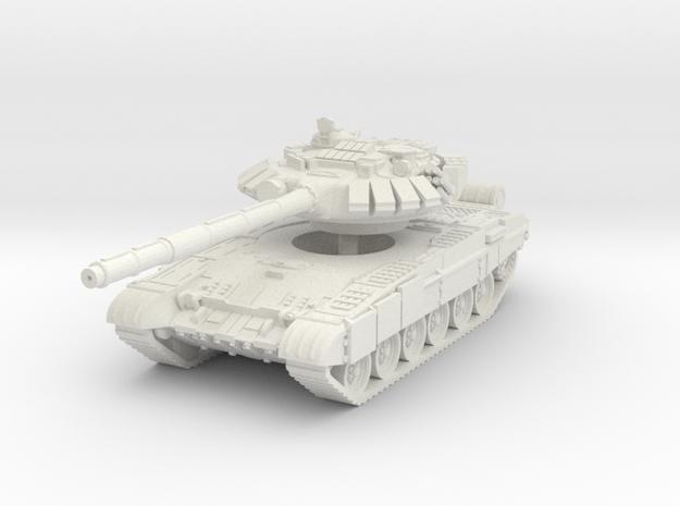 T-72 BM 1/87 in White Natural Versatile Plastic