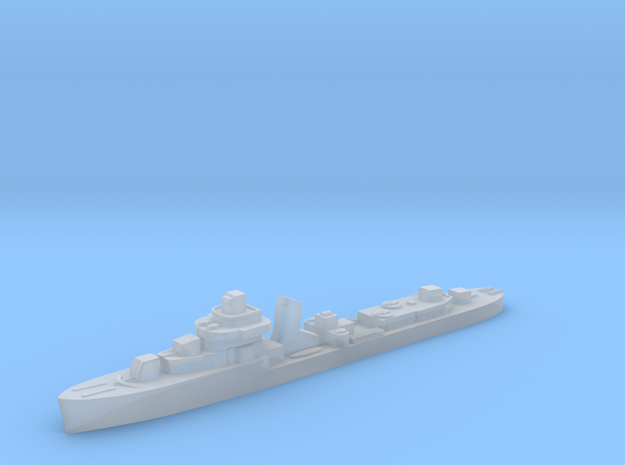 Brazilian Ajuricaba destroyer 1:1800 WW2 in Smoothest Fine Detail Plastic