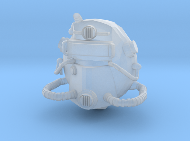 FallOut Helmet in Smoothest Fine Detail Plastic