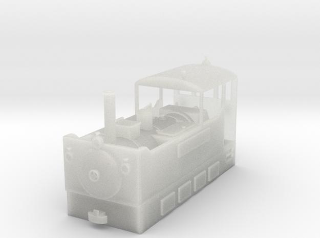 Freelance H0e tramway loco - no.3