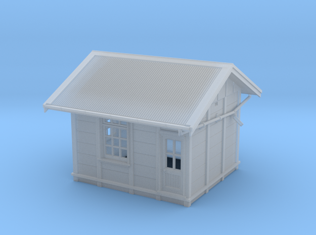 """HO PC RHD 15"""" Panel Signal Box - Complete in Smooth Fine Detail Plastic"""