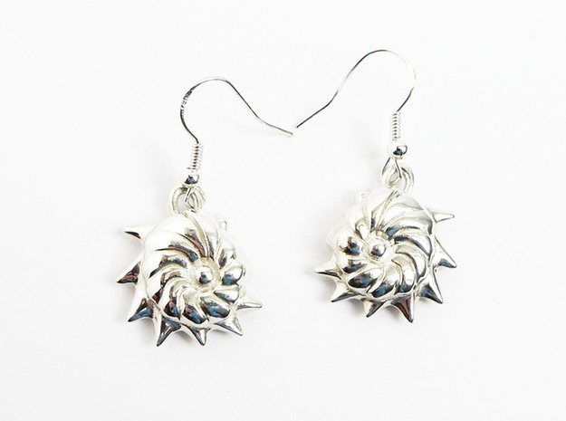 Cristellaria earrings